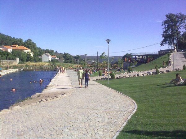 Praia fluvial Unhais da Serra